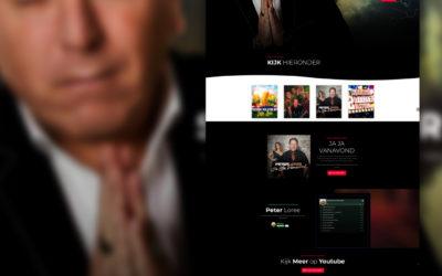Nieuwe website Peter Loree